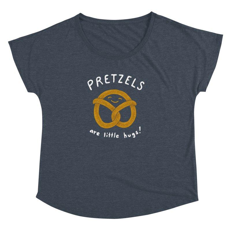 Pretzels are Little Hugs Women's Dolman by mj's Artist Shop