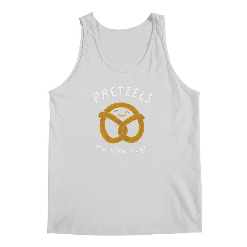 Pretzels are Little Hugs Men's Regular Tank by mj's Artist Shop