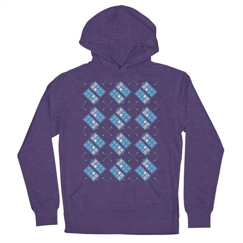 Gallifrey Argyle Women's Pullover Hoody by mj's Artist Shop