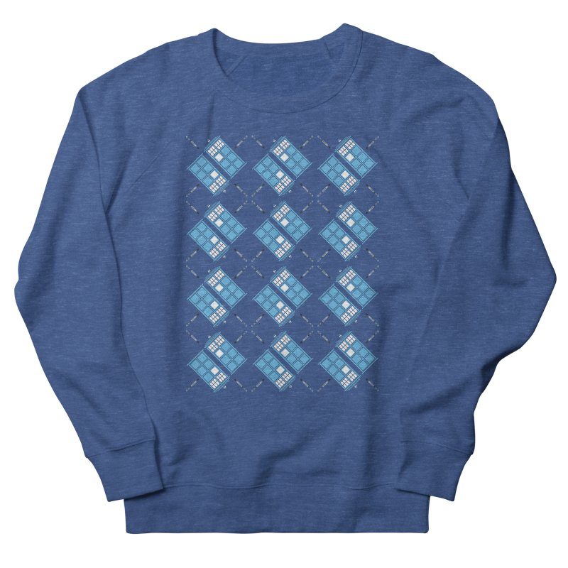 Gallifrey Argyle Women's Sweatshirt by mj's Artist Shop