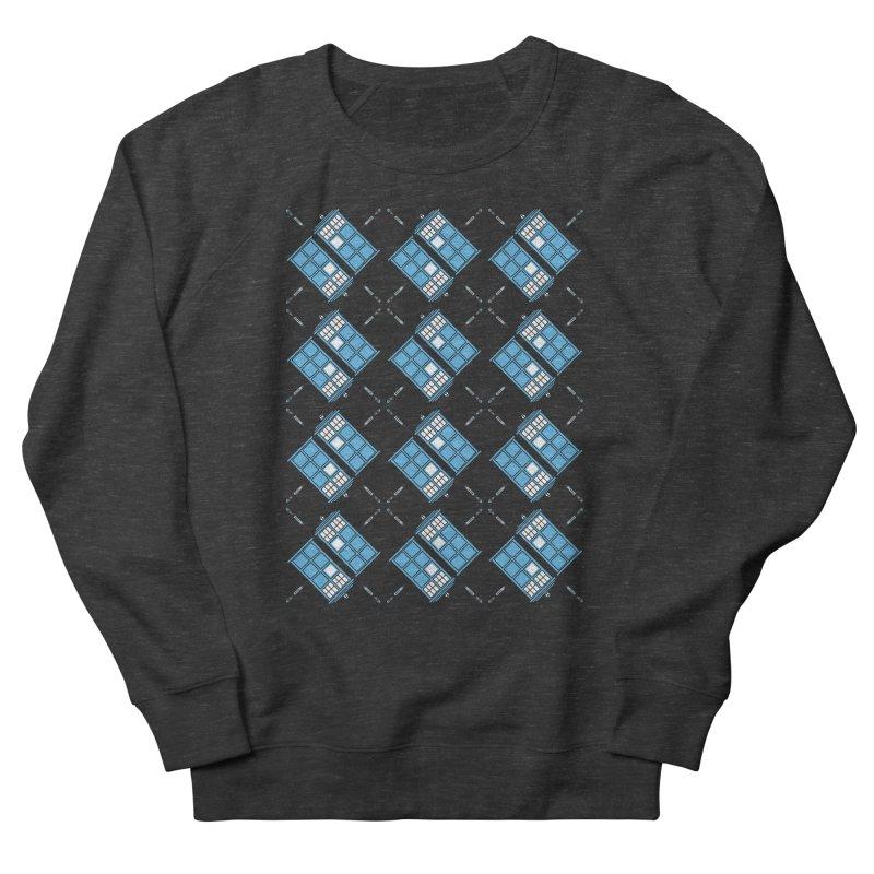 Gallifrey Argyle Men's Sweatshirt by mj's Artist Shop