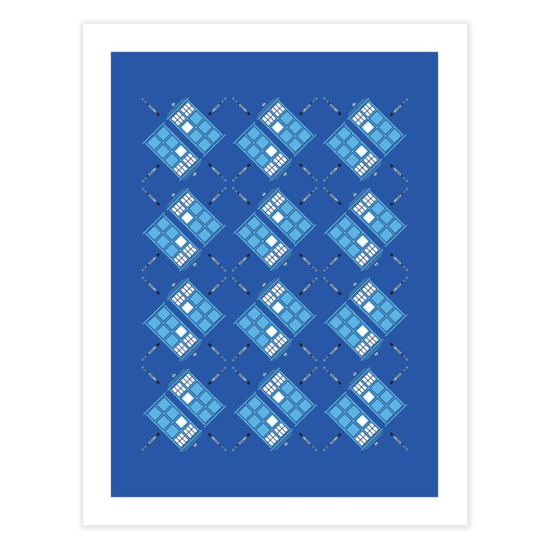 Gallifrey Argyle Home Fine Art Print by mj's Artist Shop