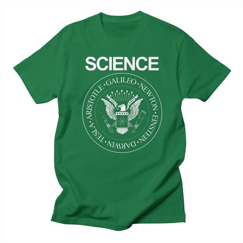 Science Rocks Men's T-shirt by mj's Artist Shop