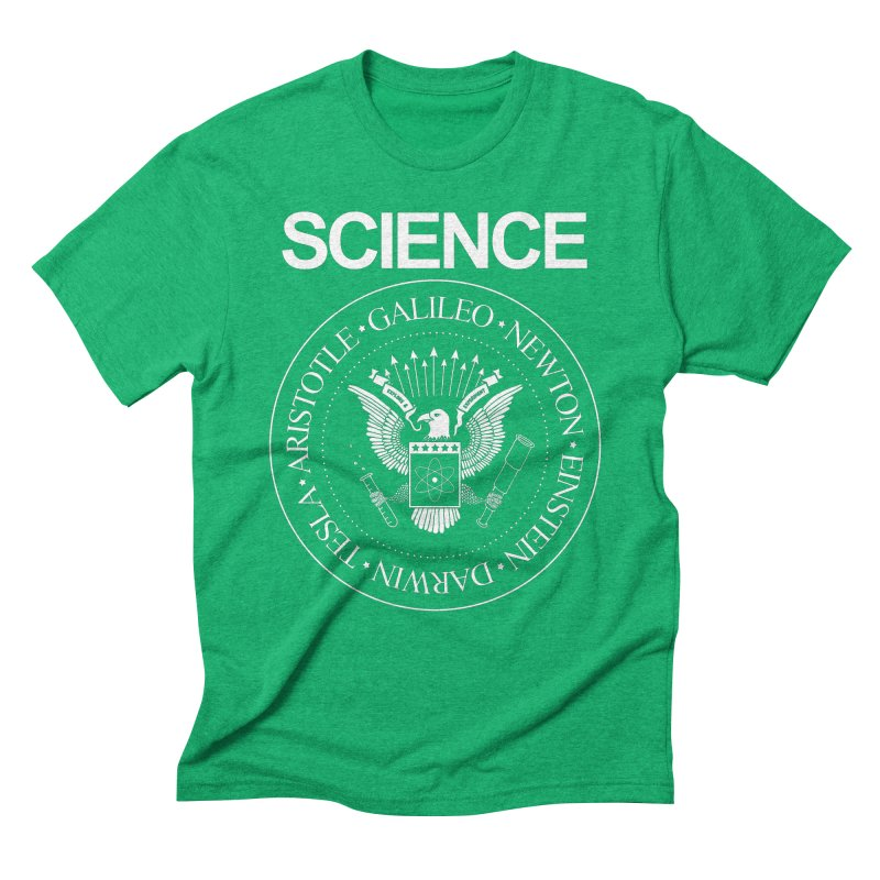 Science Rocks Men's Triblend T-shirt by mj's Artist Shop