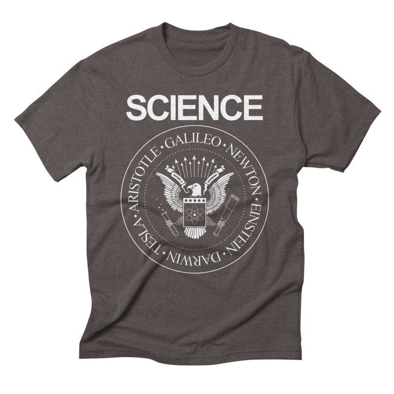 Science Rocks Men's Triblend T-shirt by mj's Artist Shop