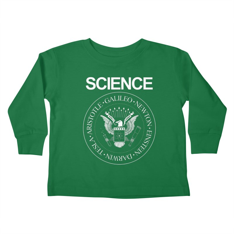 Science Rocks Kids Toddler Longsleeve T-Shirt by mj's Artist Shop