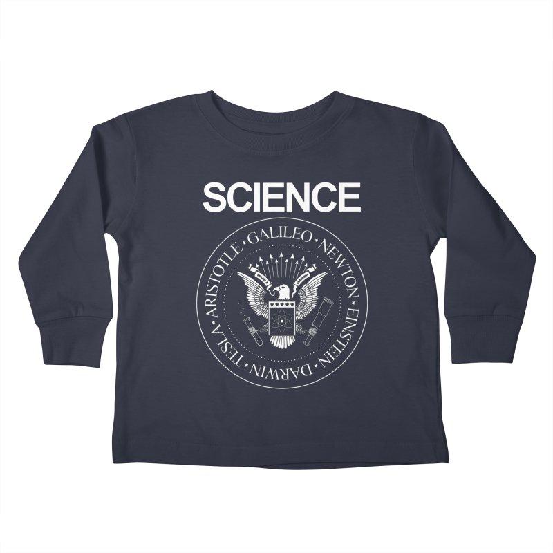 Science Rocks Kids Toddler Longsleeve T-Shirt by mj's Artist Shop
