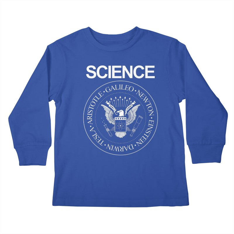 Science Rocks Kids Longsleeve T-Shirt by mj's Artist Shop