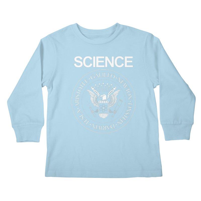 Science Rocks Kids Longsleeve T-Shirt by mj's Artist Shop