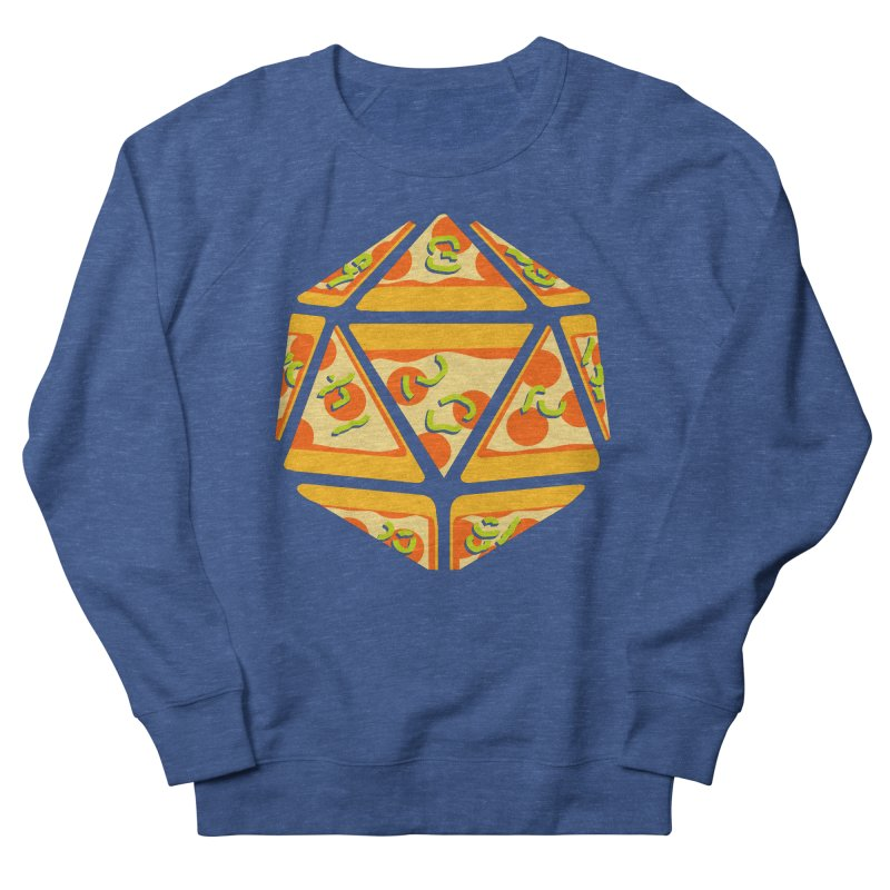 Pizza Roll Men's Sweatshirt by mj's Artist Shop