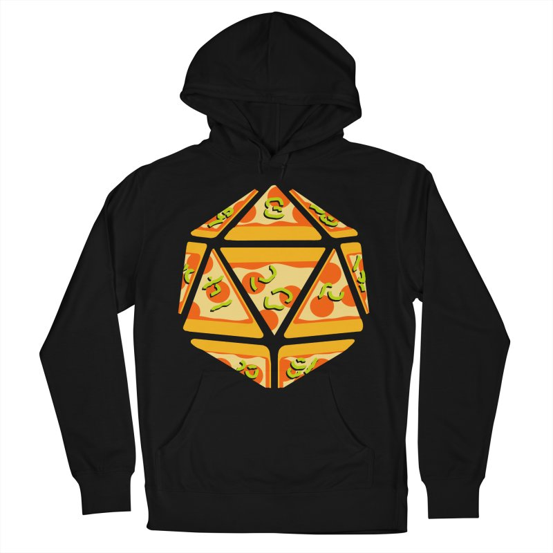 Pizza Roll Women's French Terry Pullover Hoody by mj's Artist Shop