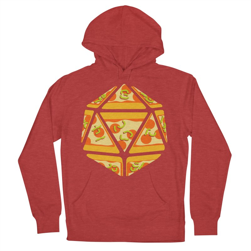 Pizza Roll Men's French Terry Pullover Hoody by mj's Artist Shop