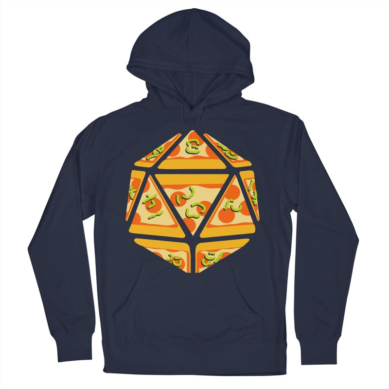 Pizza Roll Men's Pullover Hoody by mj's Artist Shop