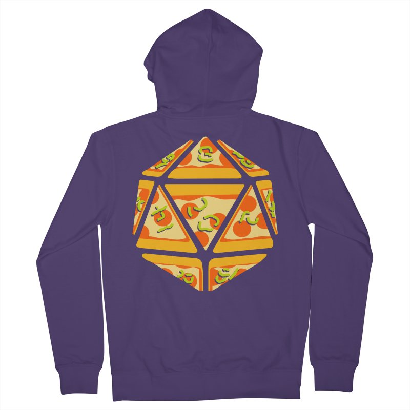 Pizza Roll Women's Zip-Up Hoody by mj's Artist Shop
