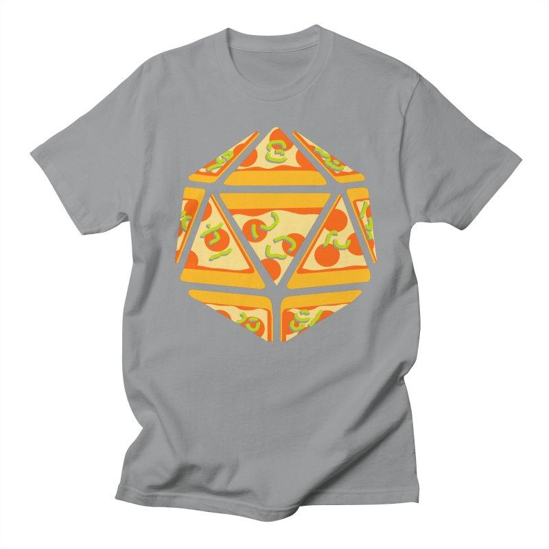 Pizza Roll Men's Regular T-Shirt by mj's Artist Shop