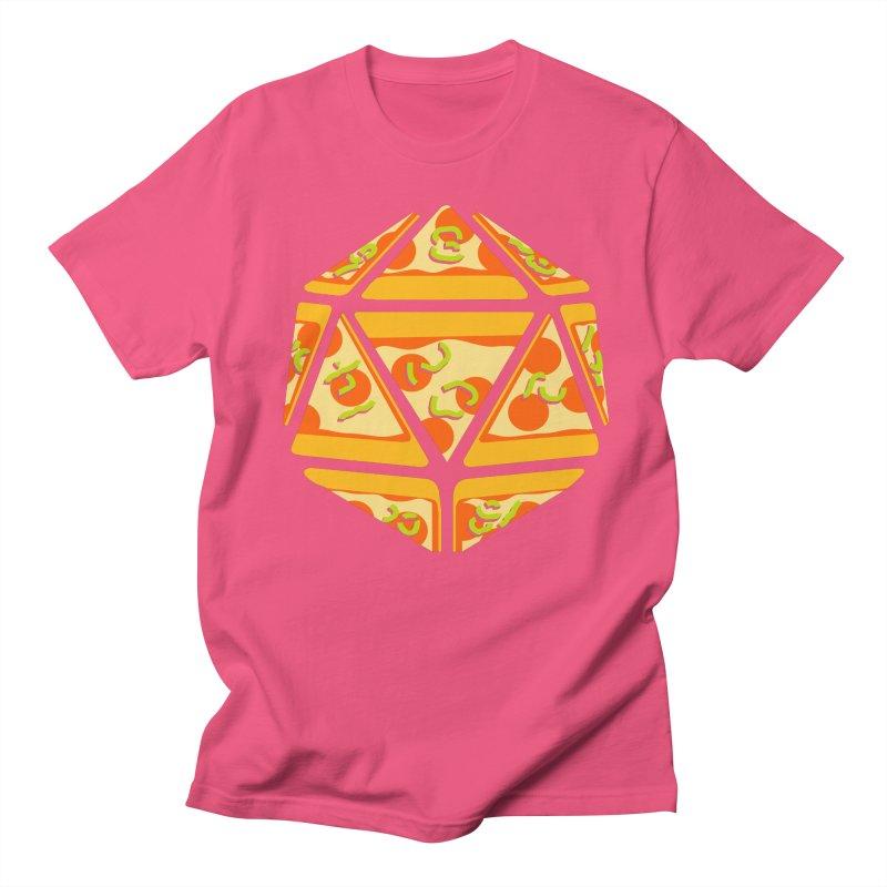 Pizza Roll Men's T-shirt by mj's Artist Shop