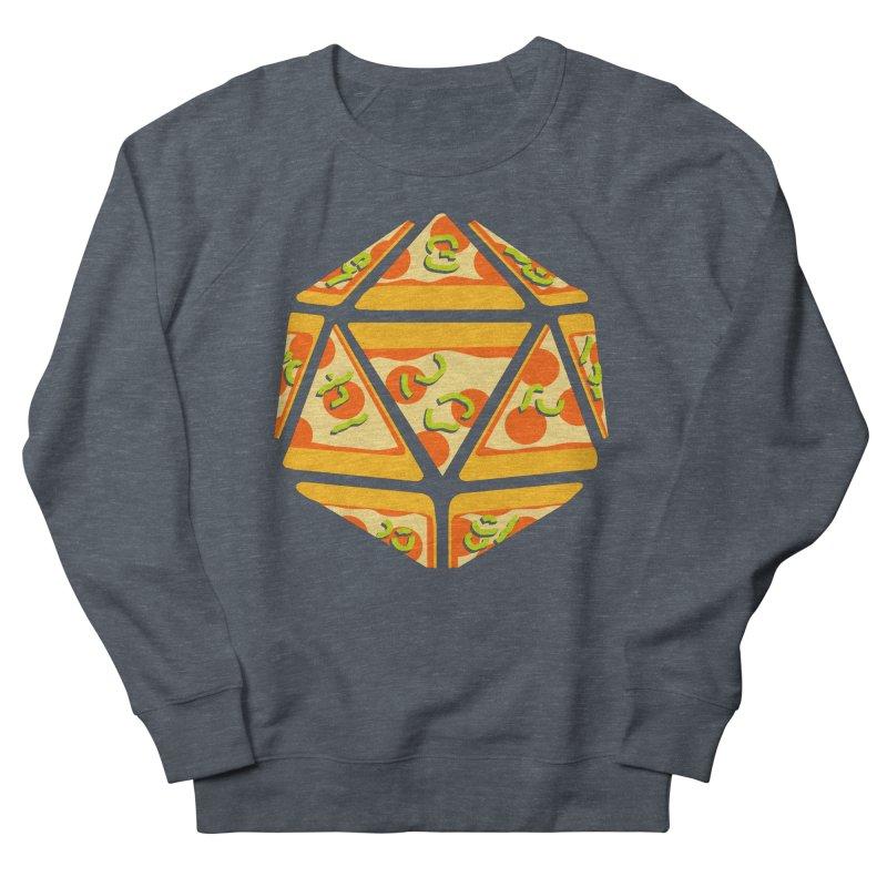 Pizza Roll Men's Sweatshirt by mj's Artist Shop