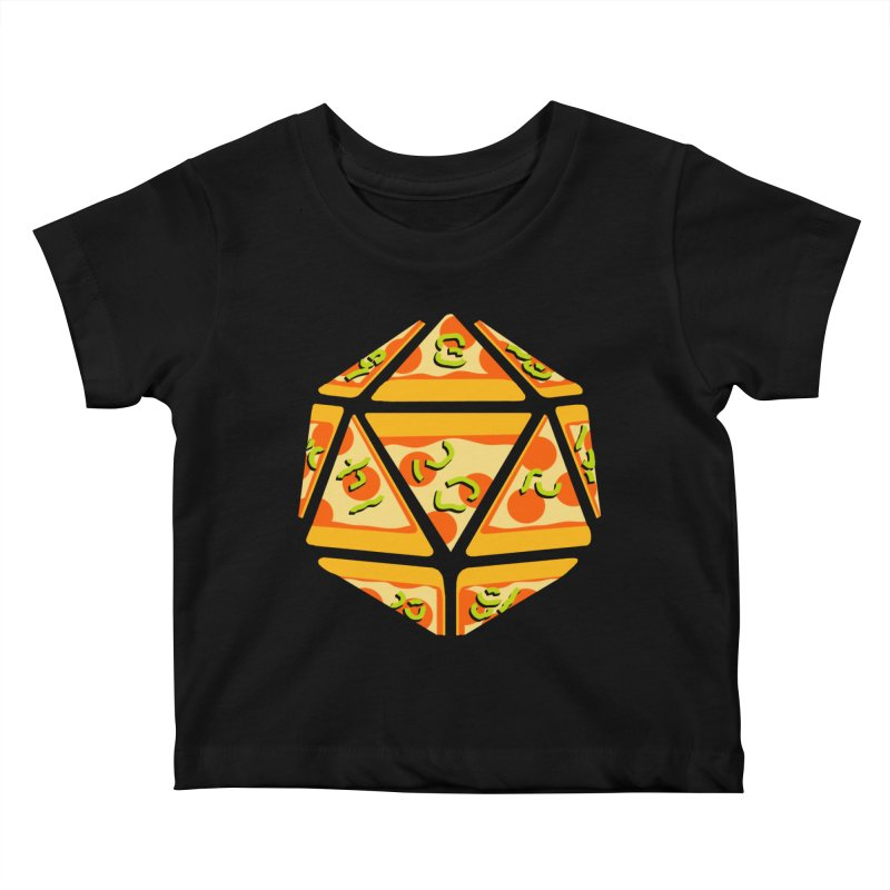 Pizza Roll Kids Baby T-Shirt by mj's Artist Shop