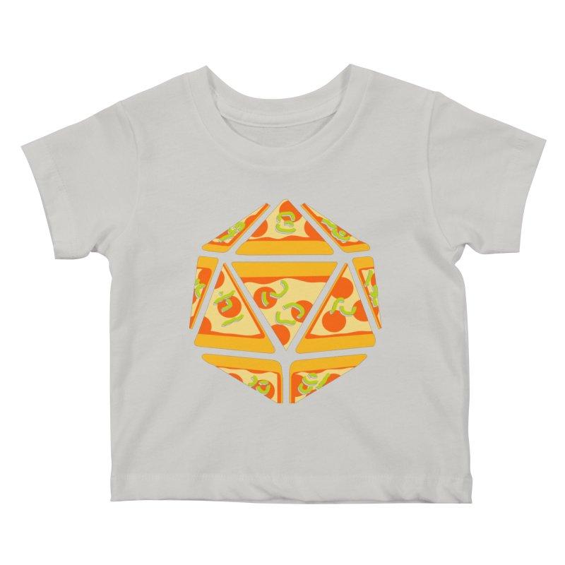 Pizza Roll Kids Baby T-Shirt by mj's Artist Shop
