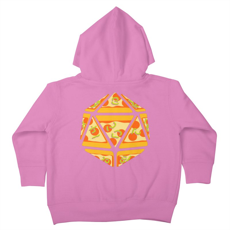 Pizza Roll Kids Toddler Zip-Up Hoody by mj's Artist Shop