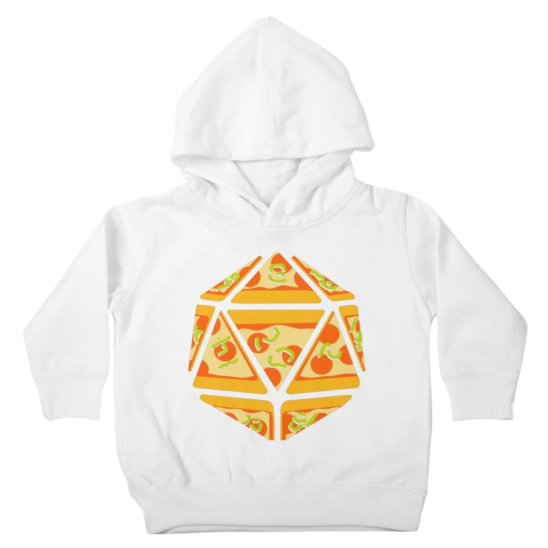 Pizza Roll Kids Toddler Pullover Hoody by mj's Artist Shop