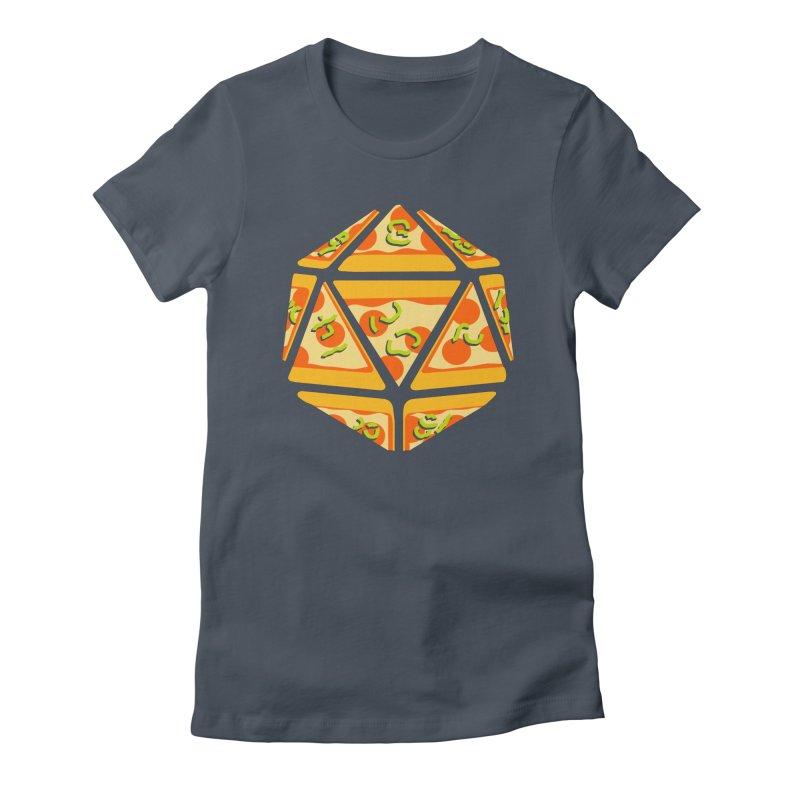 Pizza Roll Women's T-Shirt by mj's Artist Shop