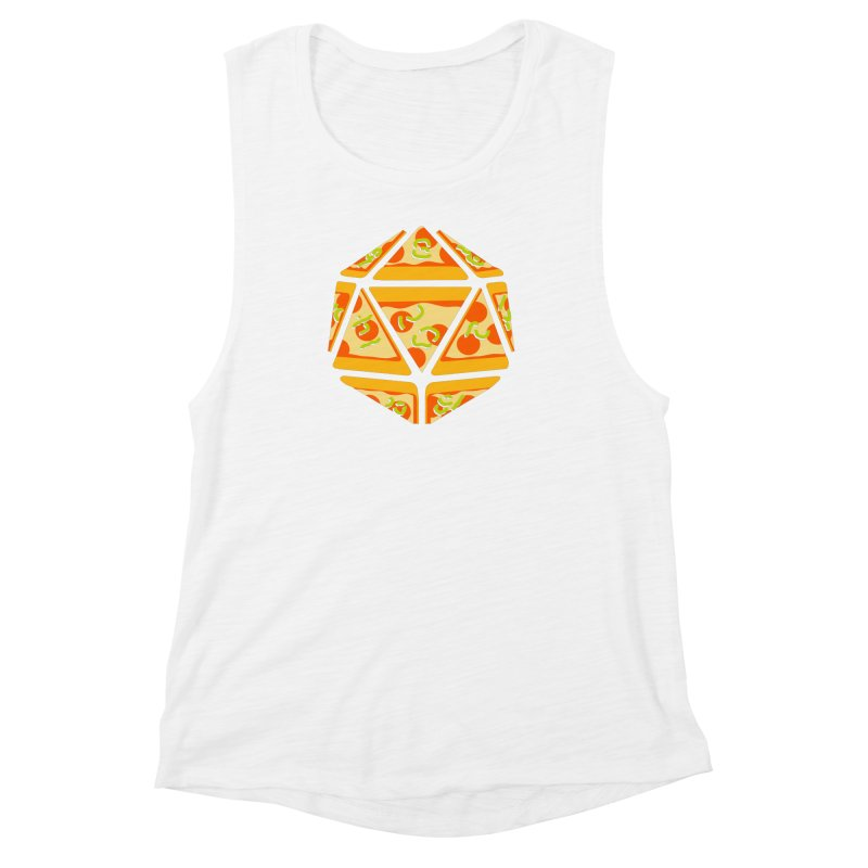 Pizza Roll Women's Muscle Tank by mj's Artist Shop