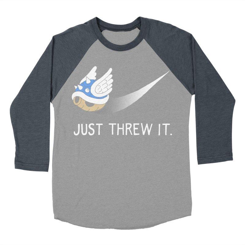 Blue Shell Athletics Men's Longsleeve T-Shirt by mj's Artist Shop