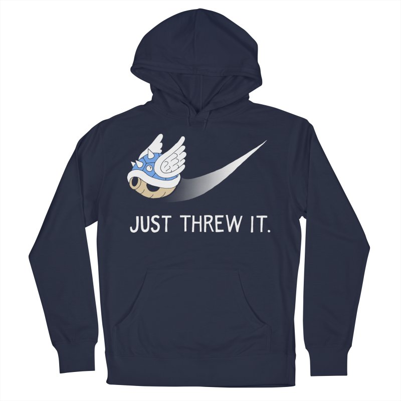 Blue Shell Athletics Women's French Terry Pullover Hoody by mj's Artist Shop