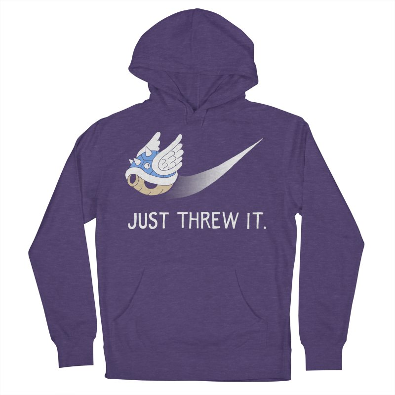 Blue Shell Athletics Men's French Terry Pullover Hoody by mj's Artist Shop