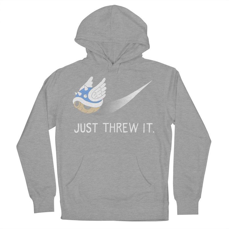 Blue Shell Athletics Men's Pullover Hoody by mj's Artist Shop