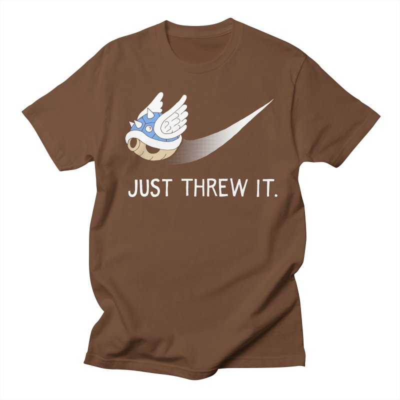 Blue Shell Athletics Men's T-shirt by mj's Artist Shop