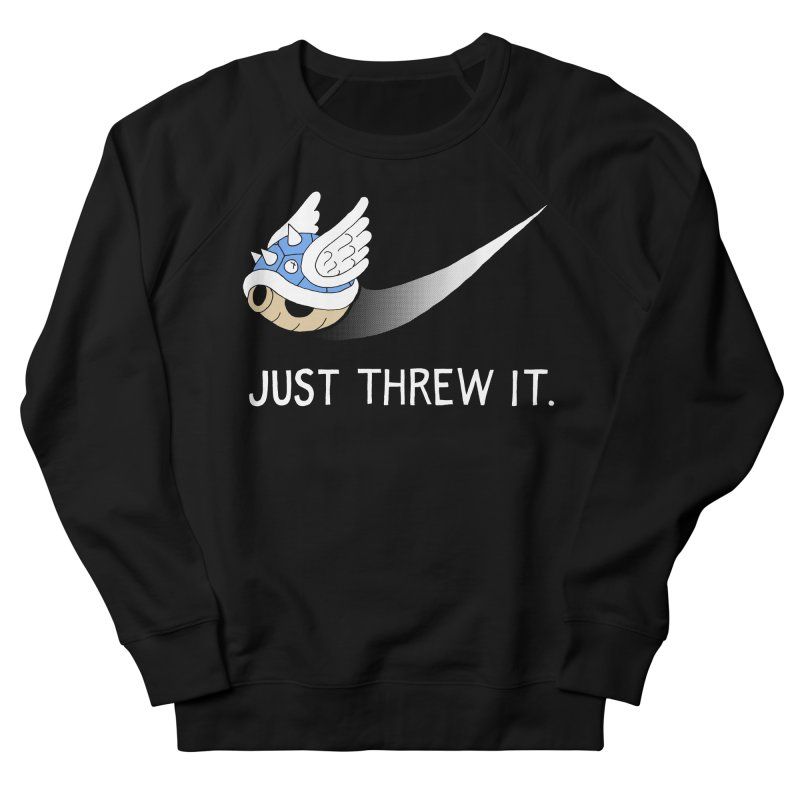 Blue Shell Athletics Women's Sweatshirt by mj's Artist Shop