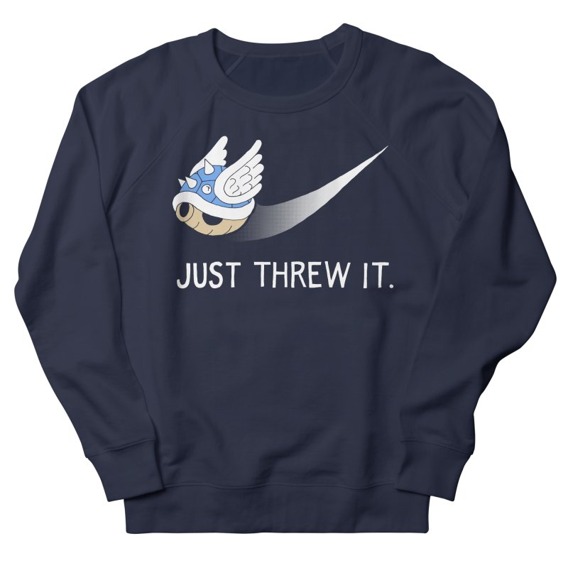 Blue Shell Athletics Women's French Terry Sweatshirt by mj's Artist Shop
