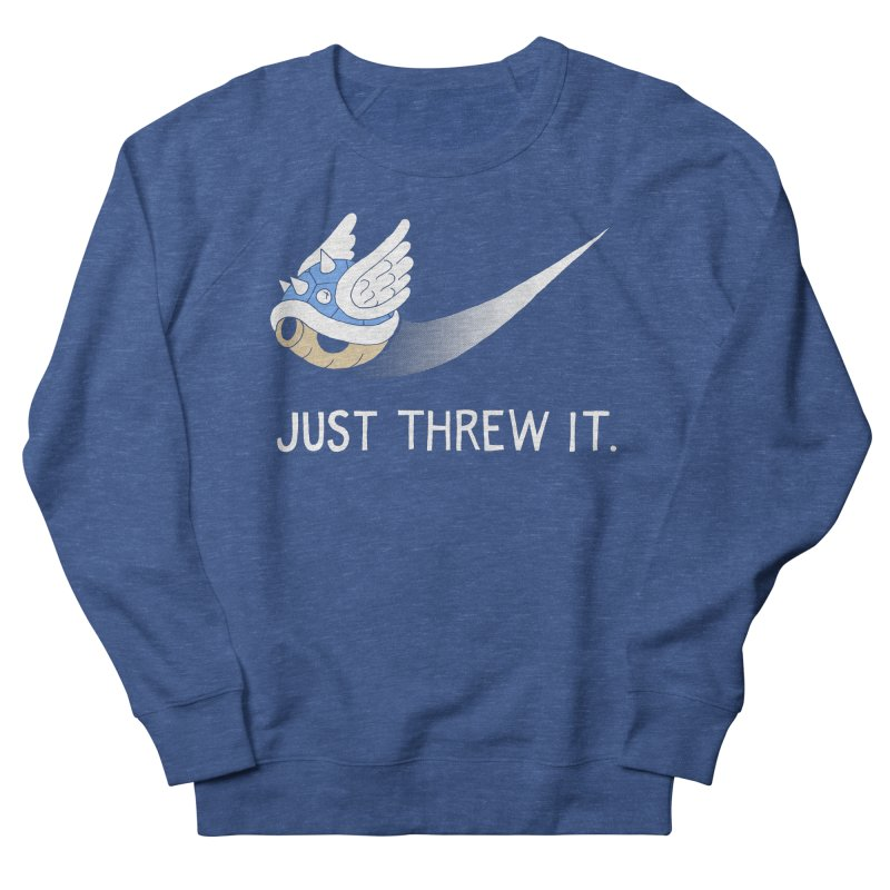 Blue Shell Athletics Men's Sweatshirt by mj's Artist Shop