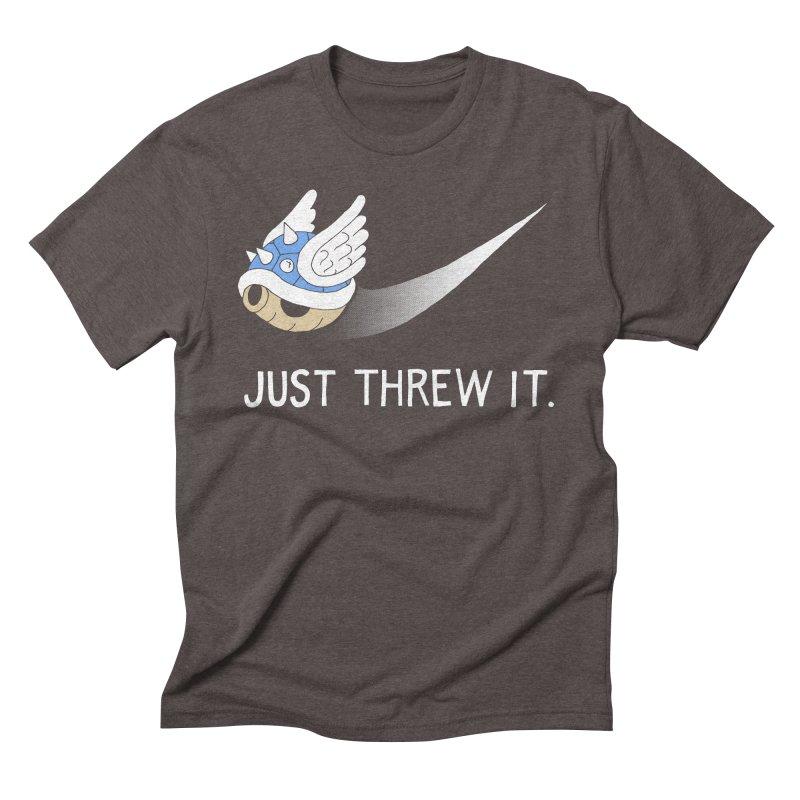 Blue Shell Athletics Men's Triblend T-Shirt by mj's Artist Shop