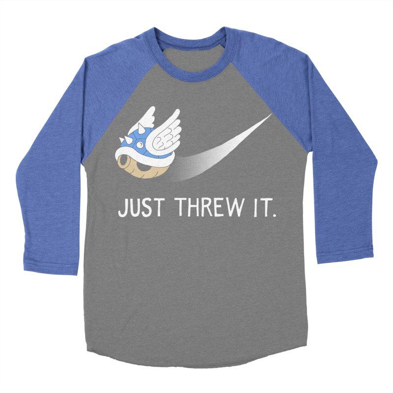 Blue Shell Athletics Women's Baseball Triblend T-Shirt by mj's Artist Shop