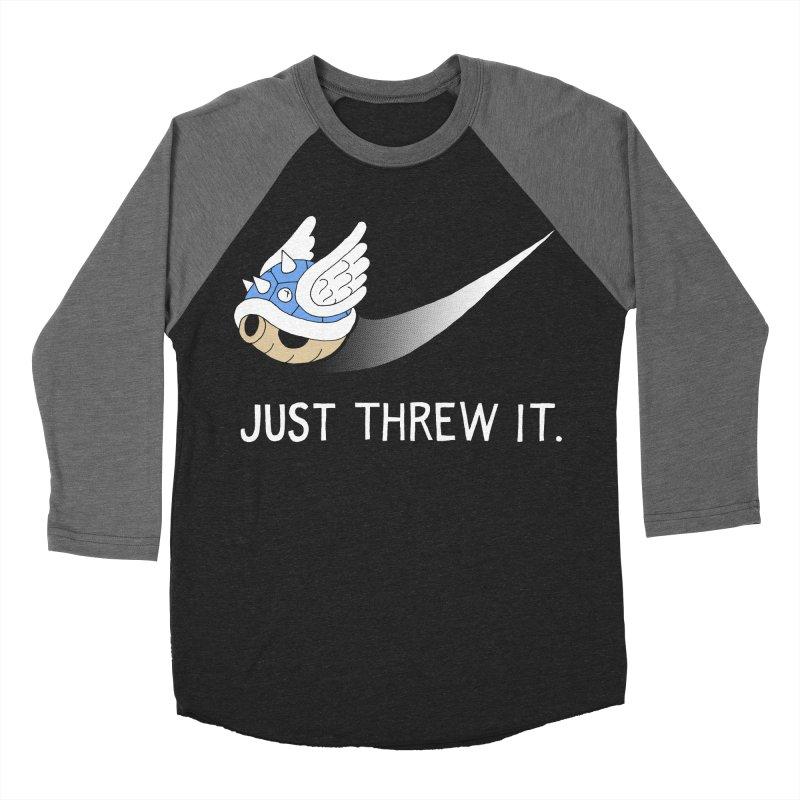 Blue Shell Athletics Men's Baseball Triblend T-Shirt by mj's Artist Shop
