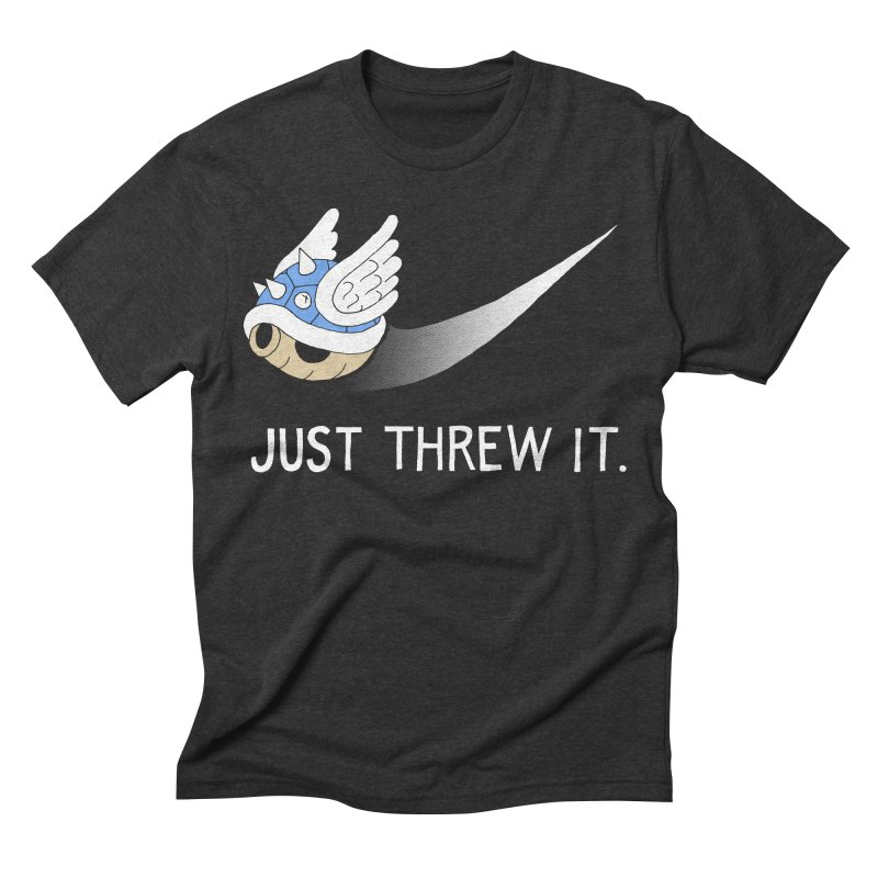 Blue Shell Athletics Men's Triblend T-shirt by mj's Artist Shop