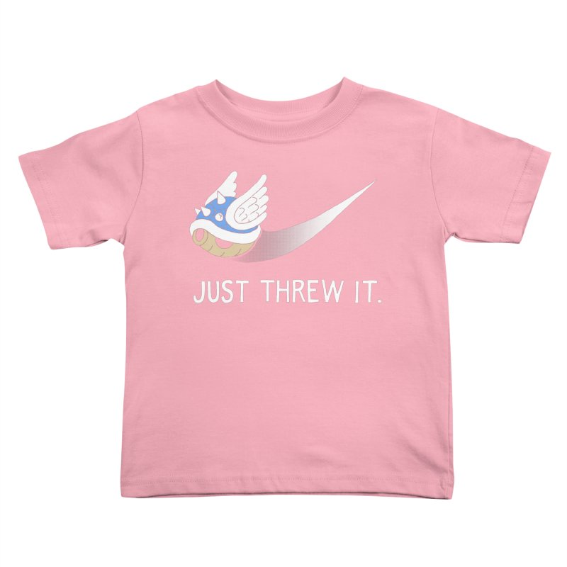 Blue Shell Athletics Kids Toddler T-Shirt by mj's Artist Shop