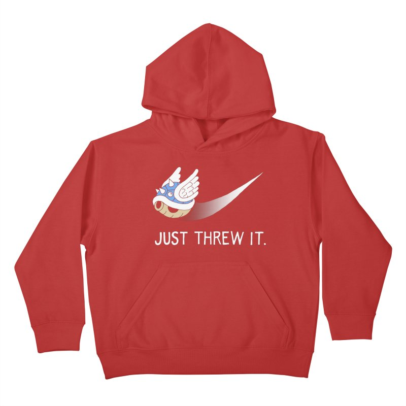 Blue Shell Athletics Kids Pullover Hoody by mj's Artist Shop