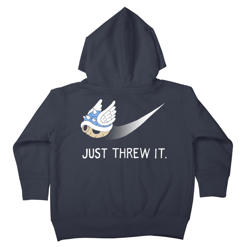 Blue Shell Athletics Kids Toddler Zip-Up Hoody by mj's Artist Shop