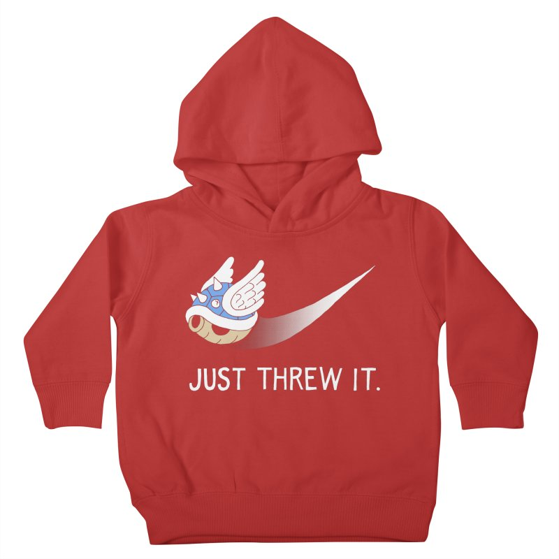 Blue Shell Athletics Kids Toddler Pullover Hoody by mj's Artist Shop