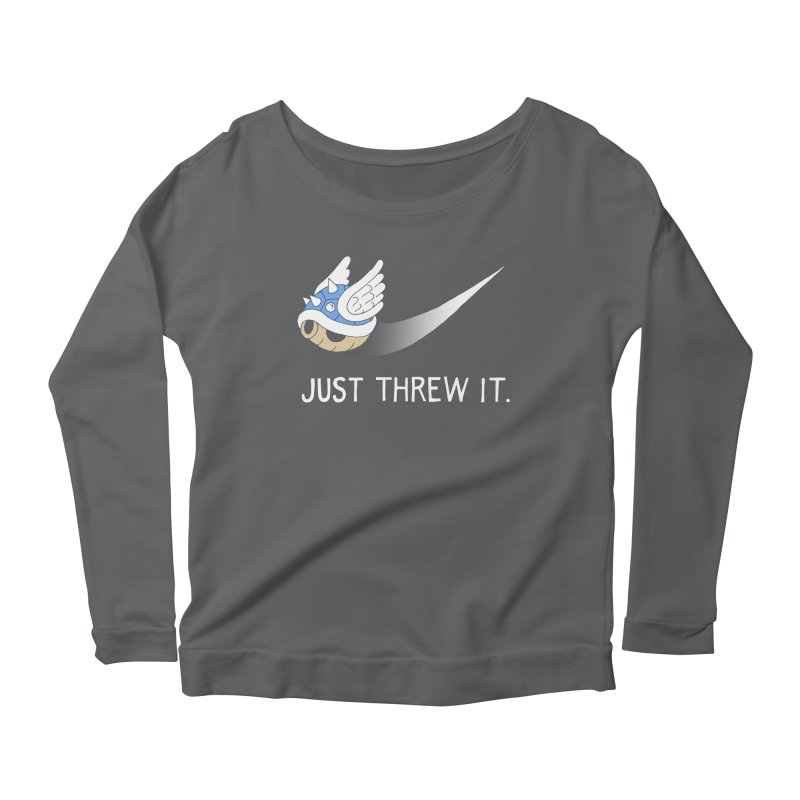 Blue Shell Athletics Women's Scoop Neck Longsleeve T-Shirt by mj's Artist Shop
