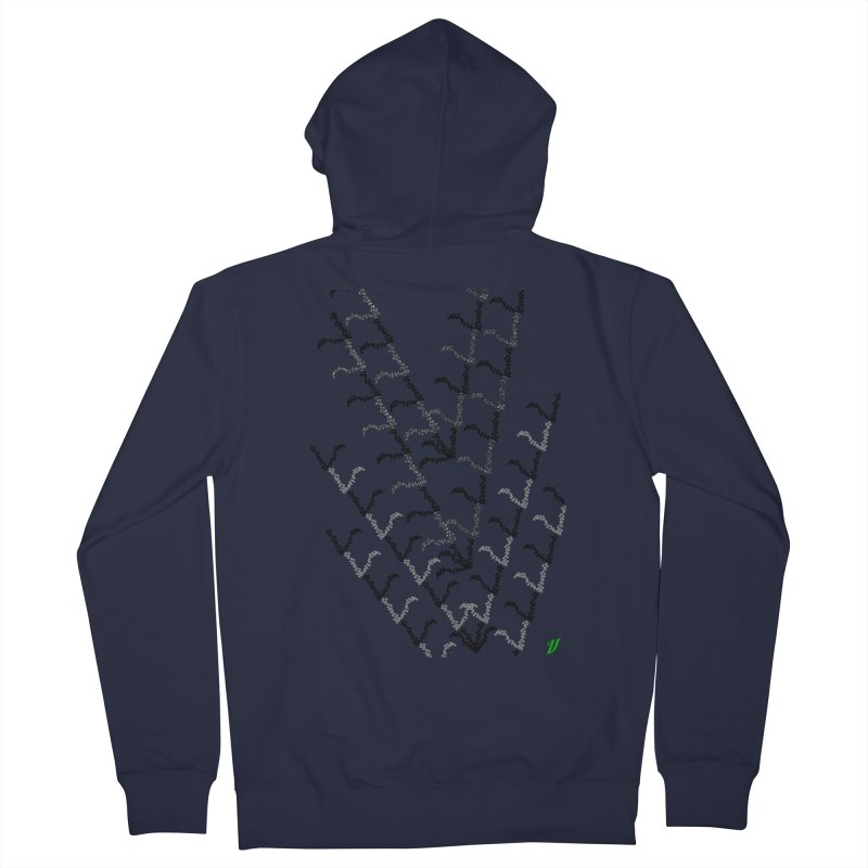Migration Women's French Terry Zip-Up Hoody by MJAllAccess Designs
