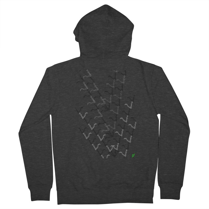 Migration Men's Zip-Up Hoody by MJAllAccess Designs