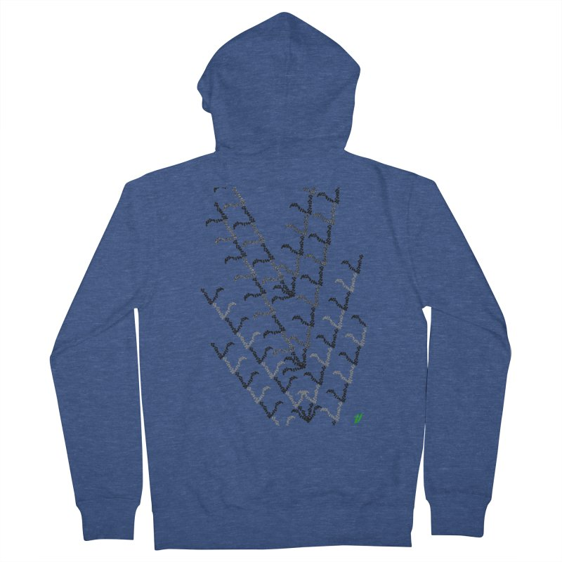 Migration Men's French Terry Zip-Up Hoody by MJAllAccess Designs