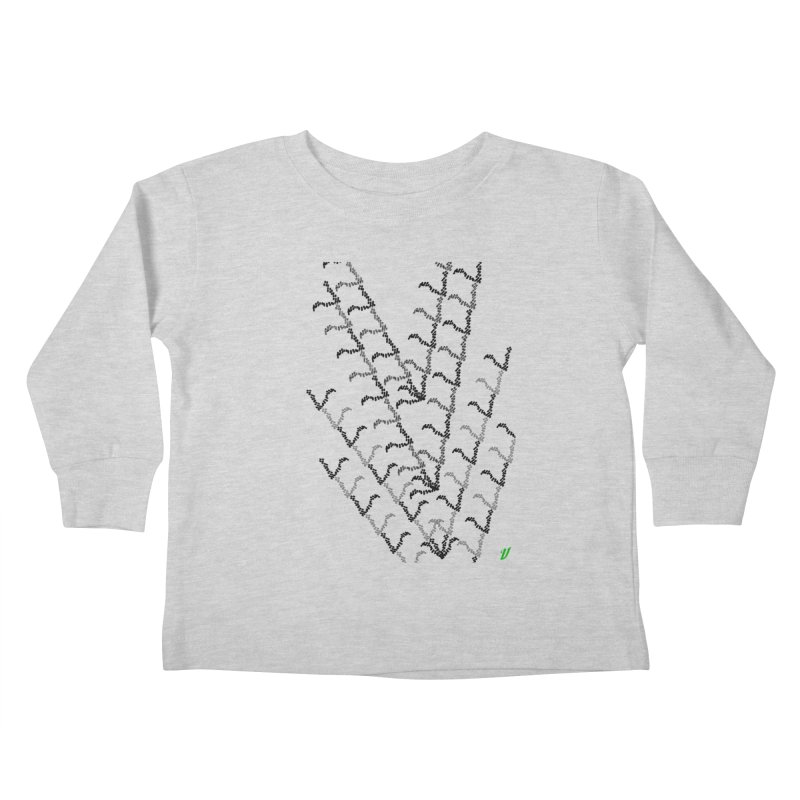 Migration Kids Toddler Longsleeve T-Shirt by MJAllAccess Designs