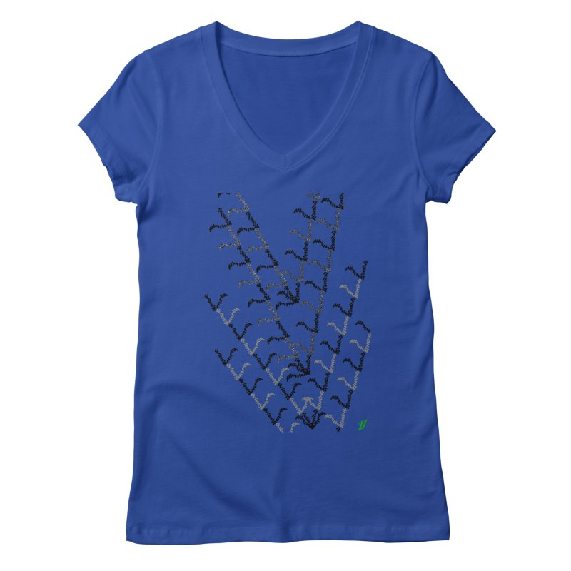 Migration Women's V-Neck by MJAllAccess Designs