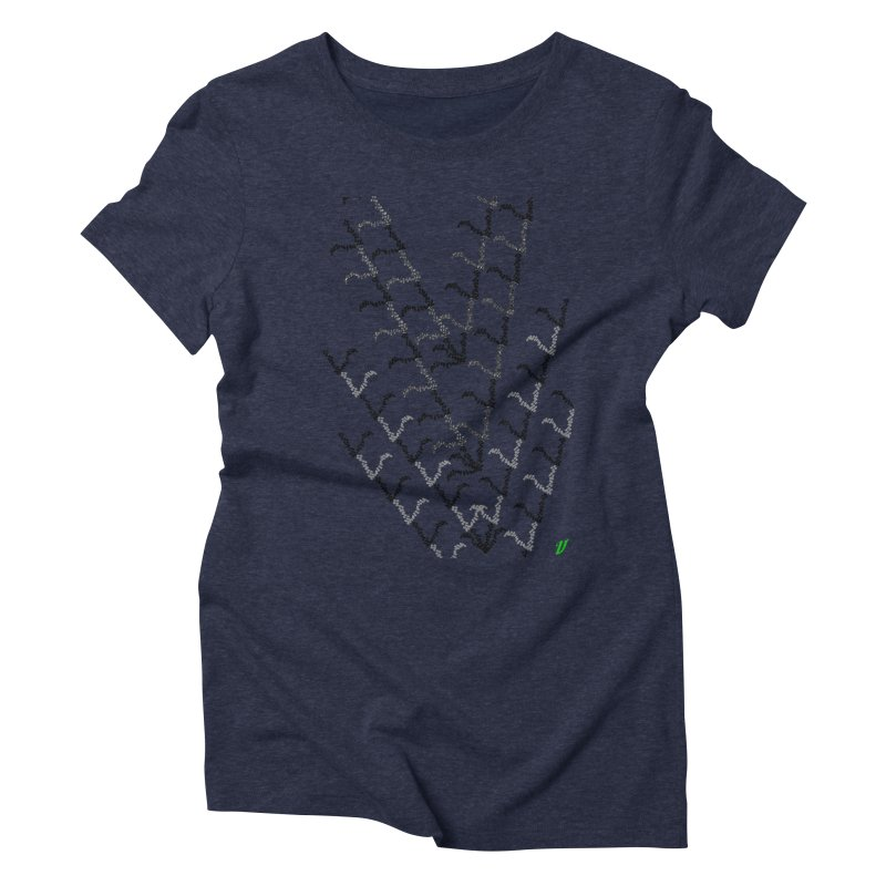 Migration Women's Triblend T-Shirt by MJAllAccess Designs